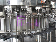Monoblock 3 In 1 Glass Bottle Carbonated Drink Filling Machine