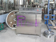 Double Heads Semi Automatic Glass Bottle Cleaning Machine For Beverage Filling Line